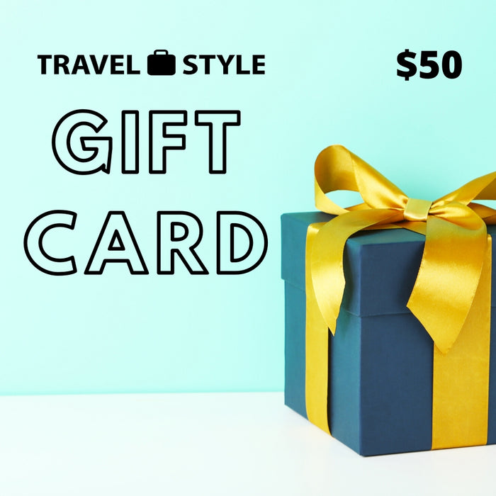Travel Style Gift Card