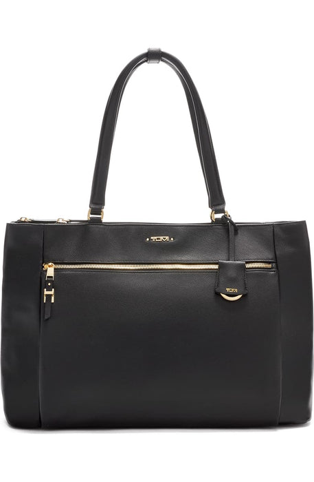 Voyageur Sheryl Leather Business Tote