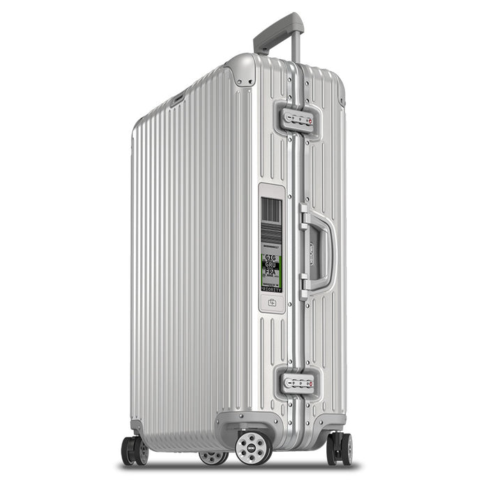 Rimowa Topas Trolley Multiwheel 82 Electronic Tag Aluminum