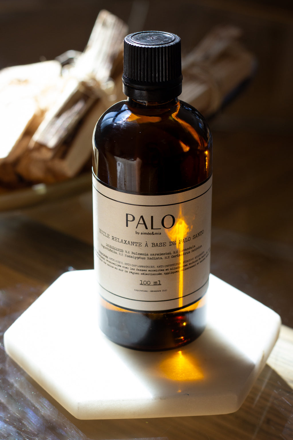Palo relaxing body oil