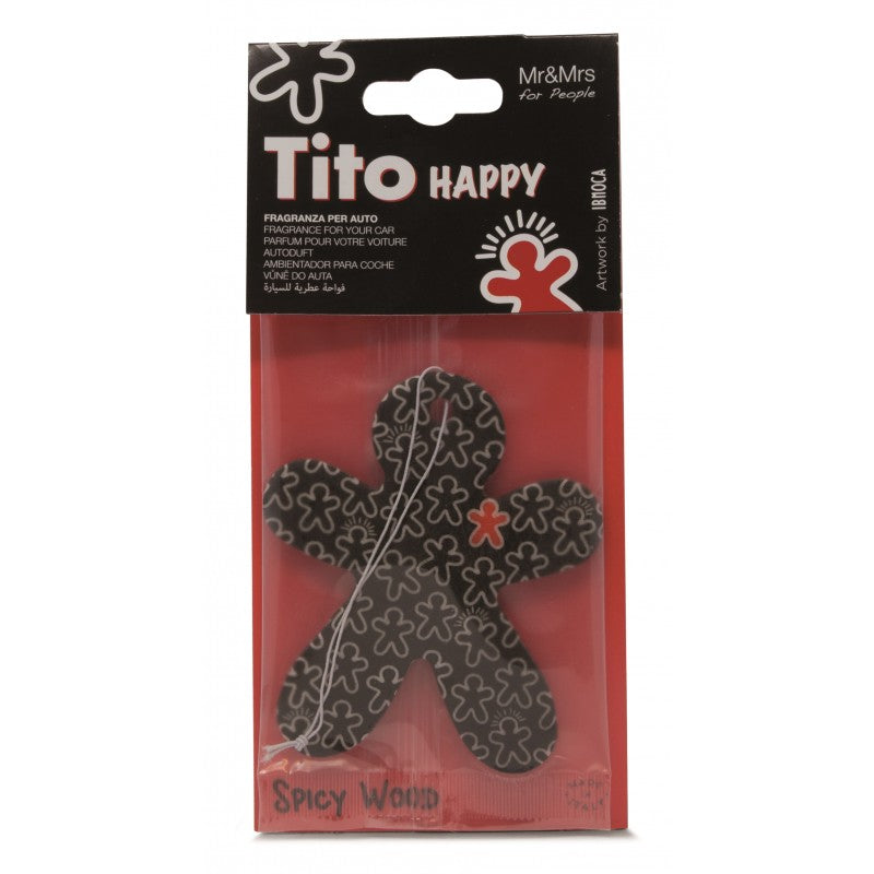 Tito Happy Paper Black - Spicy Wood