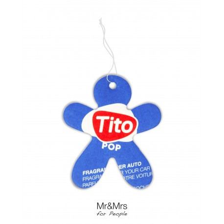 Tito Pop Paper Blue - Spicy Wood