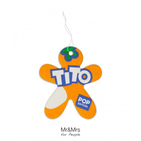 Tito Pop Paper Orange - Soft & Fruity
