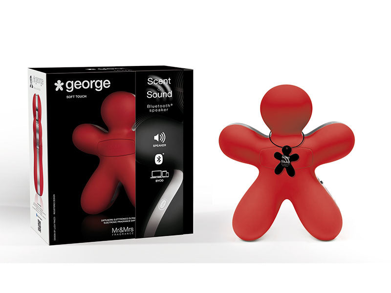 George Scent & Sound Red Bluetooth