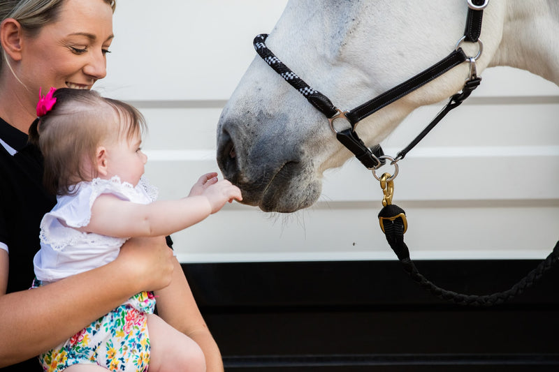 Hey Baby! - How Tammy Patch Combines Competition Riding & Motherhood