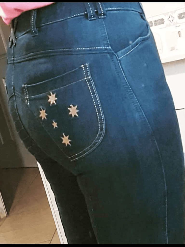 Selfie - Lisa Holohan's 'favourite', PWRA Denim Breeches