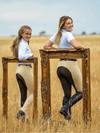 Beige Chocolate Slicker Sticker JODHPURS - Ladies