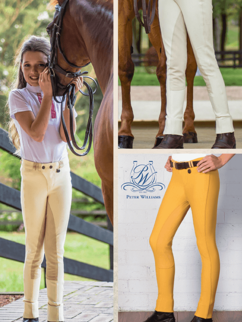 Children wearing Full Seat Jodhpurs