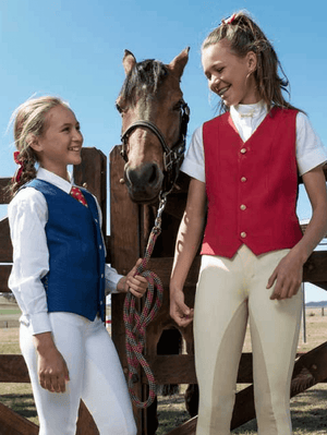 Children Show Riding Vests Equestrian Apparel