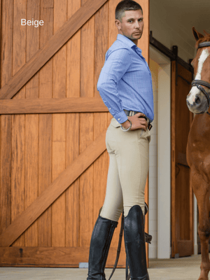 Men in Beige Cross Country BREECHES