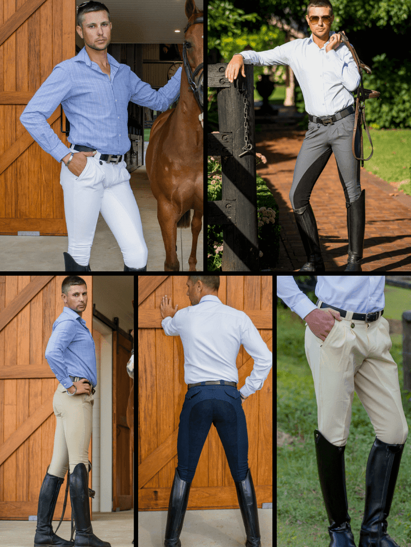 Men in Cross Country BREECHES