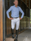 Men's wearing Freestyle Breeches in White
