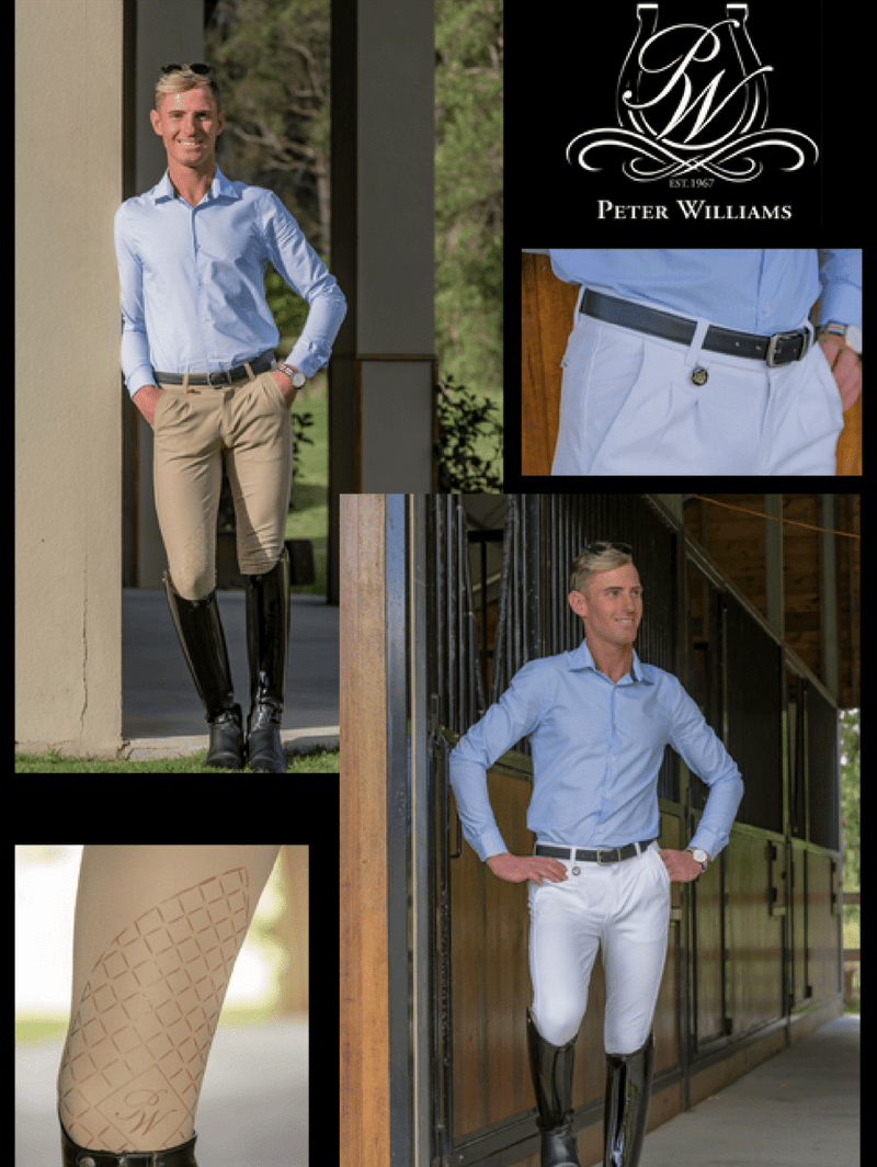Men's wearing Freestyle Breeches