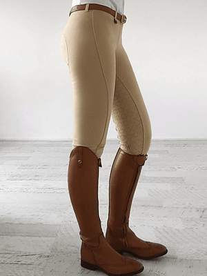 Ladies in Beige Gel Seat Pull On Jodhpurs