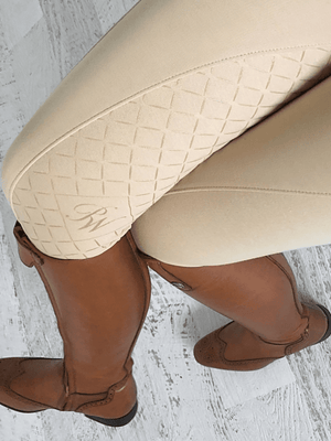 Gel Seat Pull On Jodhpurs - PHONE POCKET - Ladies