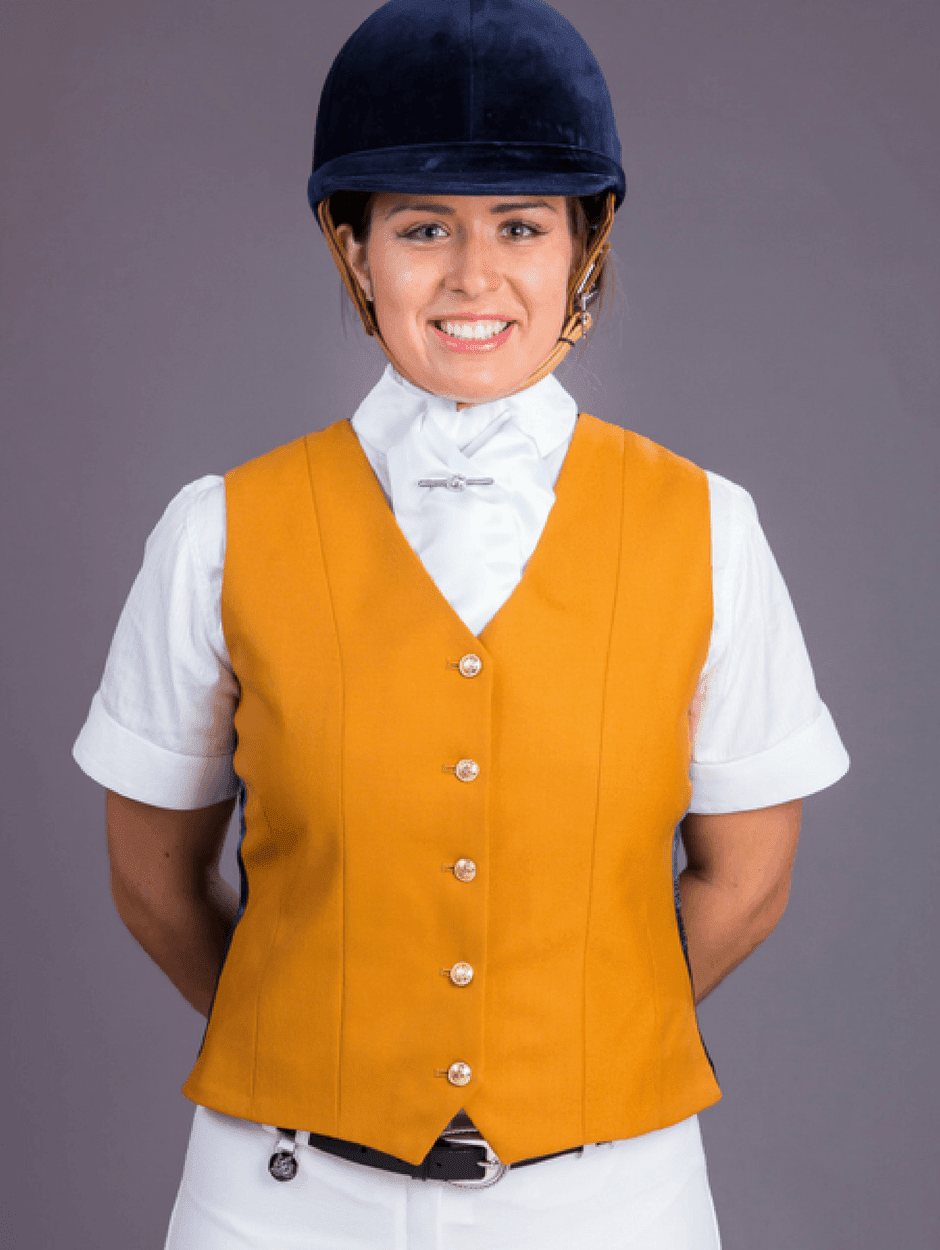Ladies Show Vest - Gold
