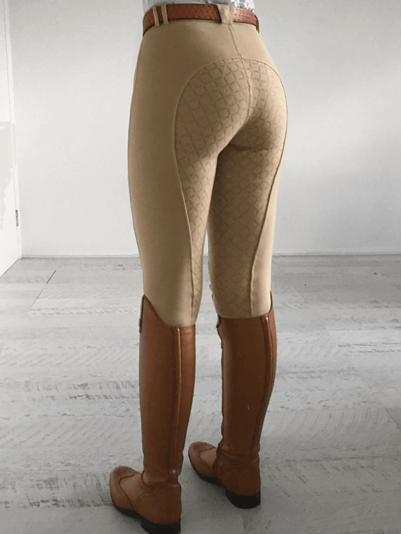 Gel Seat PHONE POCKET Gripper Breeches