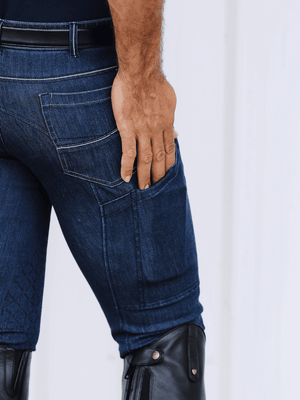 Men's Denim Breeches