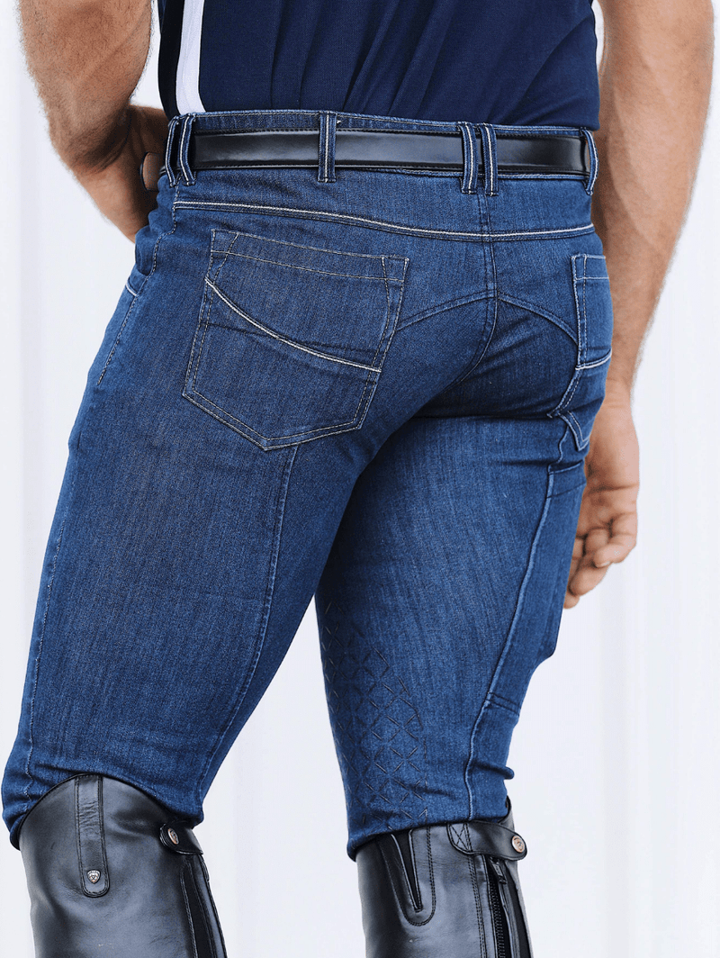 Men's wearing Denim Breeches