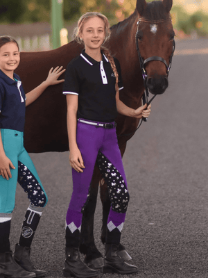 Unicorn Printed Pull-on Jodhpurs - Children