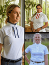 Ladies wearing Ruffle Shirts