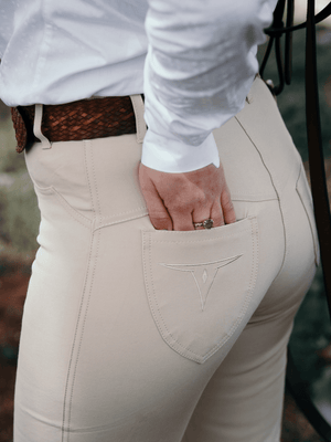 Ladies wearing Stock Horse Competition Pants
