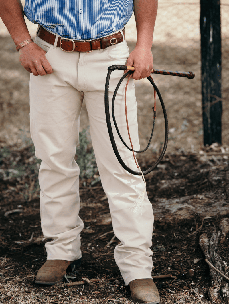 Men's wearing Stock Horse Competition Pants
