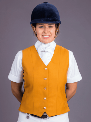 Classic White Satin Stock Equestrian Apparel