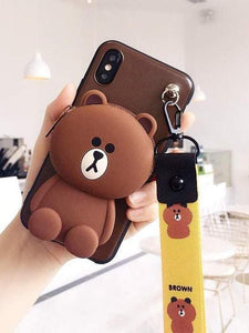 Cute Bear Phone Case