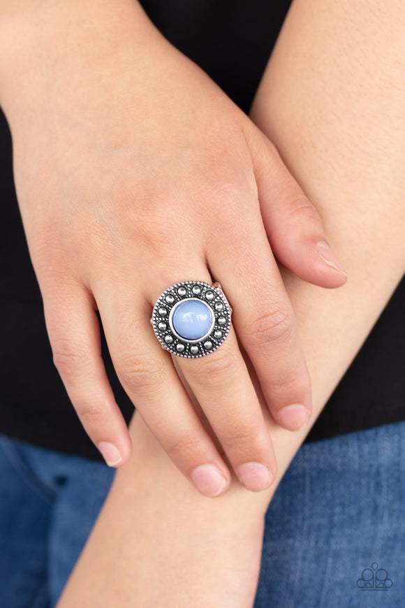 Treasure Chest Shimmer - Blue ring