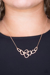 Vertigo - Copper necklace