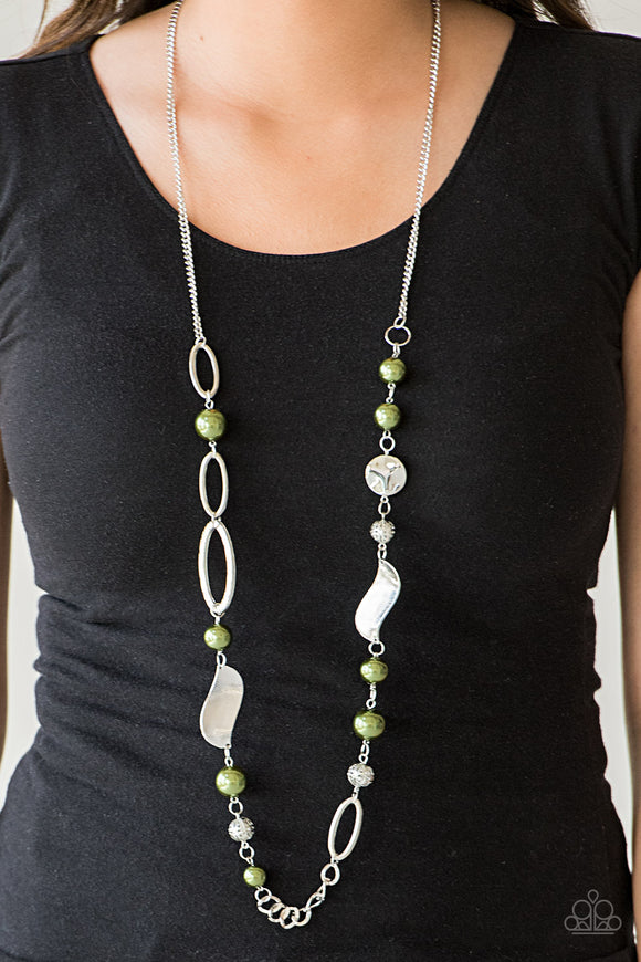 All About Me - Green necklace set