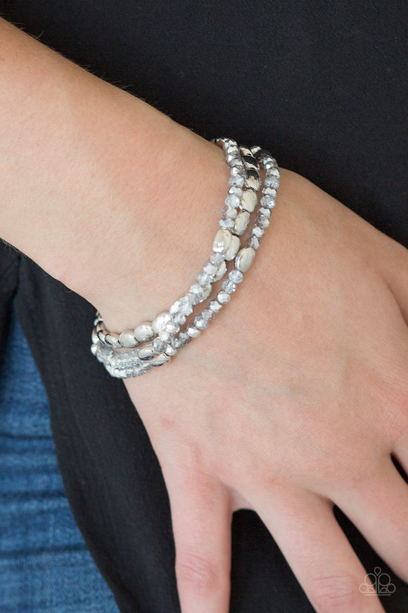 Hello Beautiful - Silver bracelet
