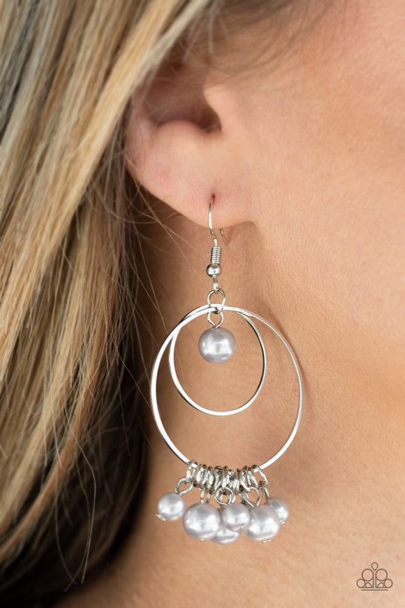 New York Attraction - Silver earrings