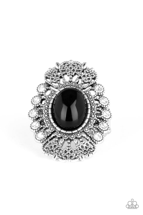 Radiantly Regal - Black ring