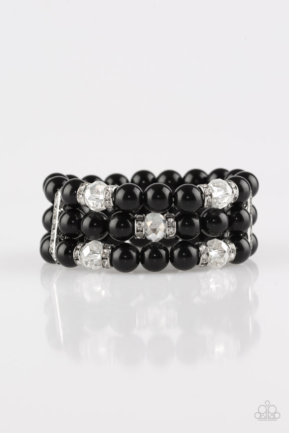 Undeniably Dapper - Black bracelet