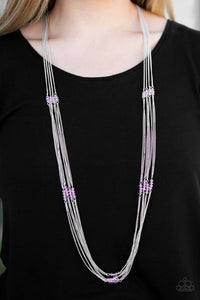 "Paparazzi Necklace & Earring Set ""Oh My Glitter - Pink"""