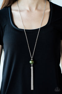 Be A Boss - Green necklace set