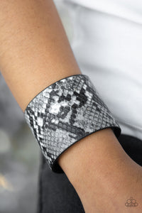 Whats HISS Is Mine - Silver wrap bracelet