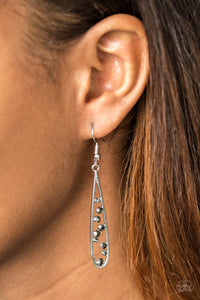Here Comes The REIGN - Silver earrings