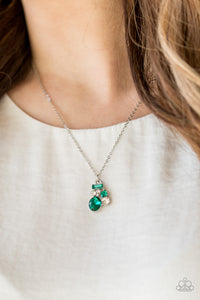 Time To Be Timeless - Green necklace set