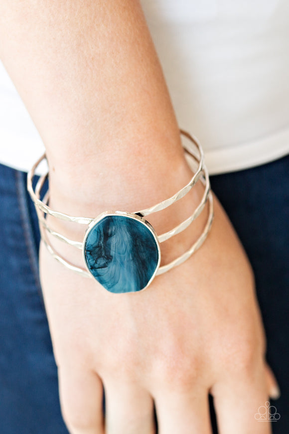 Canyon Dream - Blue cuff bracelet