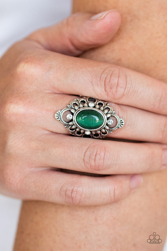 Elegantly Enchanted - Green ring