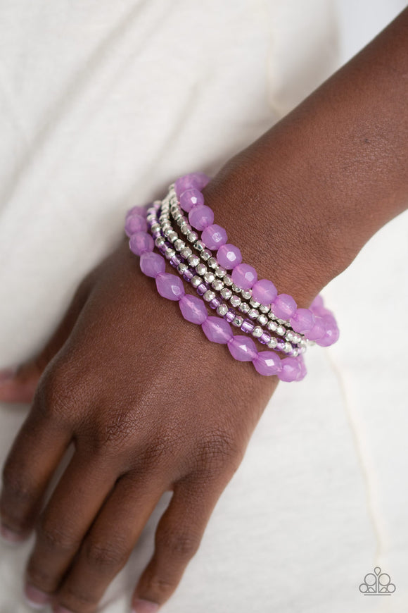 Sugary Sweet - Purple bracelet