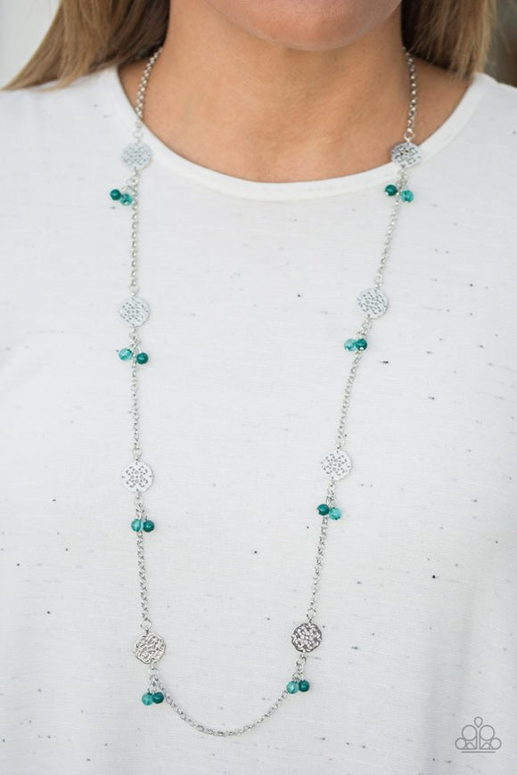 Color Boost - Green necklace