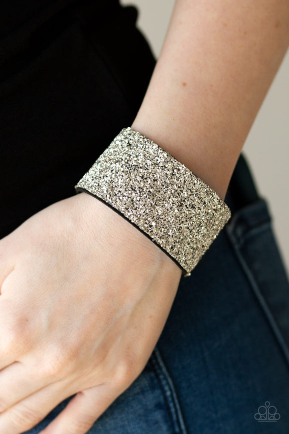 The Halftime Show - Silver wrap bracelet (Life of the Party - January 2020)