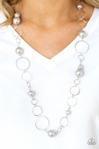 Lovely Lady Luck - Silver necklace