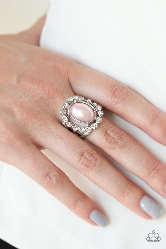 Sugar-Coated Splendor - Pink ring
