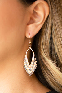 Tour de Force - Gold earrings