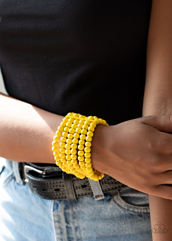 Diving in Maldives - Yellow bracelet